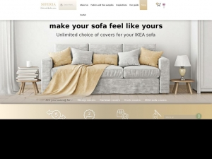 Material covers for Ikea sofas